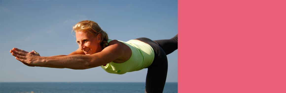 Dru Dance - warrior 3 posture