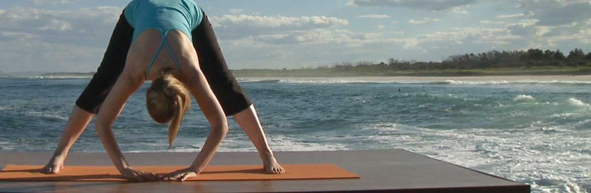 Dru Yoga forward bend