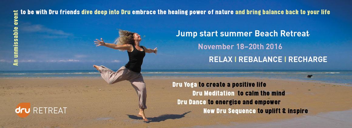 Dru Yoga Australia summer retreat Nov 2016, South Durras, NSW