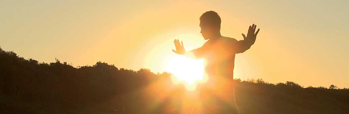 Dru Yoga in the sun
