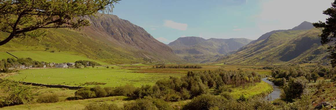 Dru International retreat centre, Snowdonia Mountain Lodge, Nant Ffrancon Valley, Wales