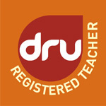Registered Dru Yoga teacher logo