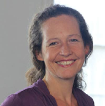 Kate Carter, nurse with the Healthy Back Programme and Dru Yoga teacher trainer
