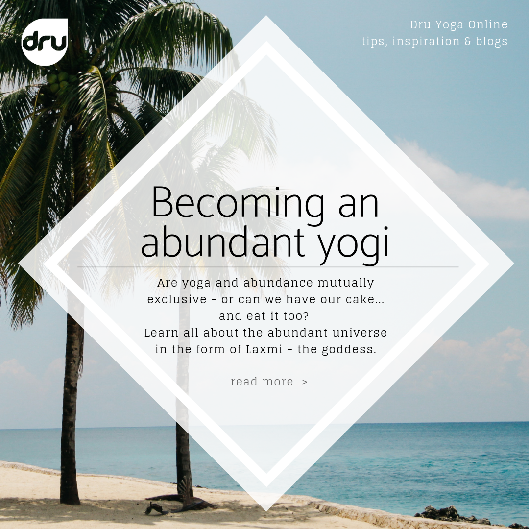 becoming an abundant yogi