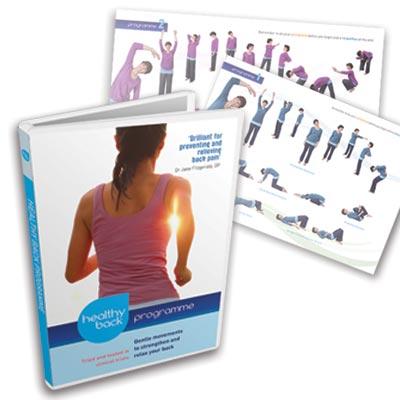 Dru Yoga Healthy Back Programme dvd