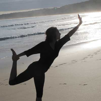Radha, Dru Dance, Natarajansana, Beach, Retreat, Yoga