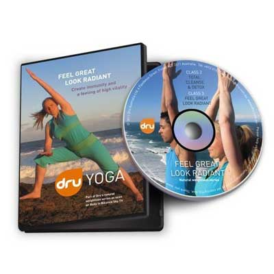 Dru Yoga DVD: Feel Great, Look Radiant