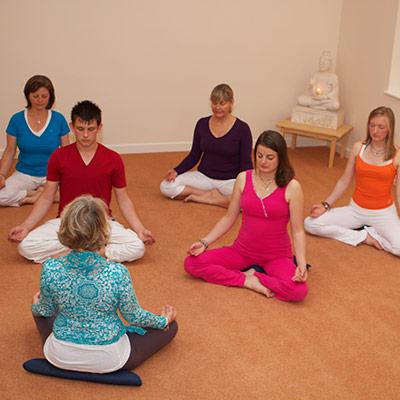 Dru Meditation class