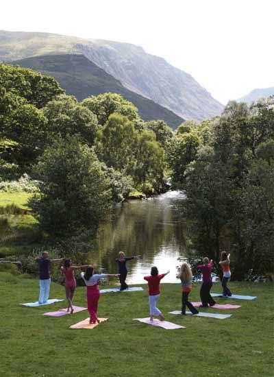 Dru Yoga in Snowdonia