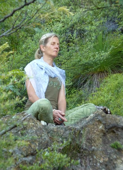 Dru meditation in nature