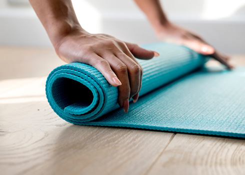 Try out days - yoga mat
