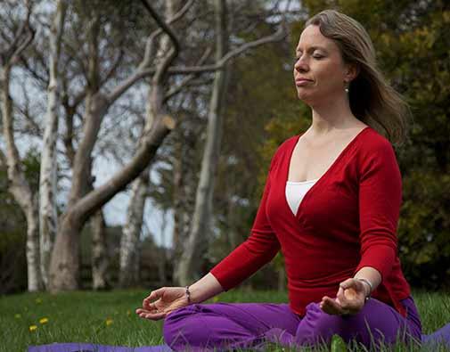 meditation and walking