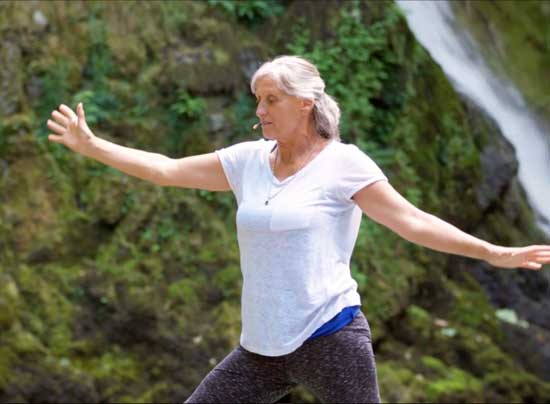 Monica Staniforth - Dru Yoga Waterfall sequence
