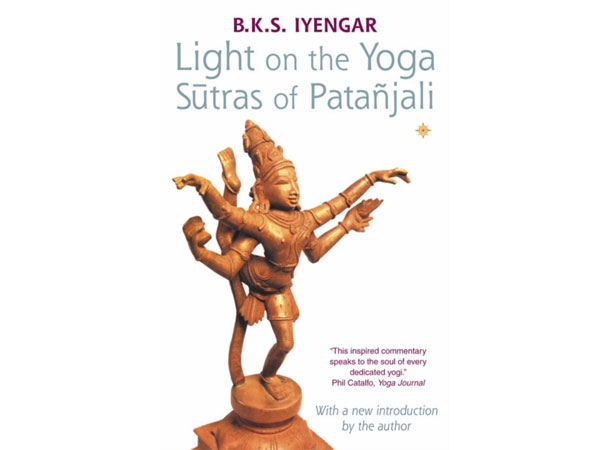 Front cover of Light on the Yoga Sutras of Patanjali