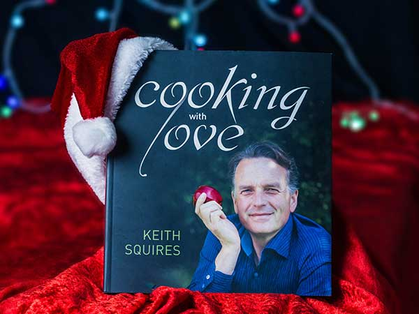Cooking with Love and Christmas Vegan dinner webinar