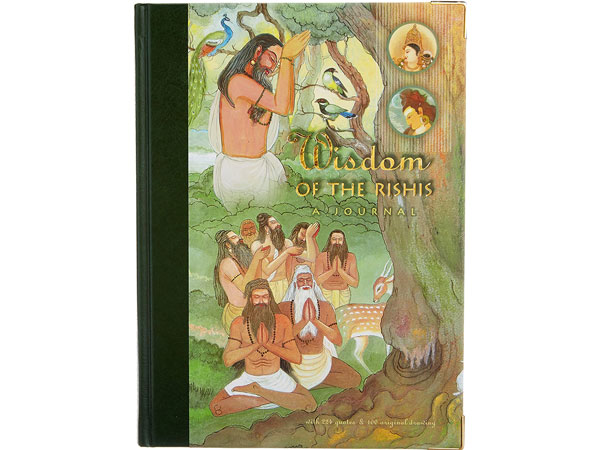 Front cover of Wisdom of the Rishis journal