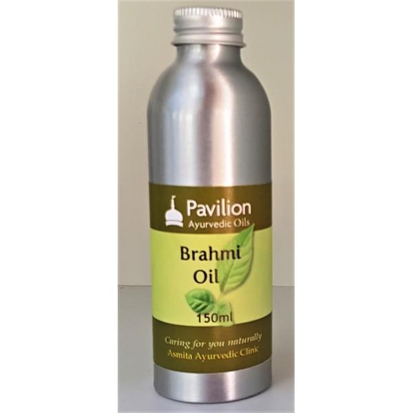 Aluminium bottle of Brahmi oil