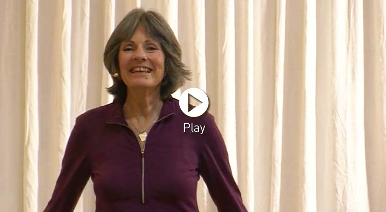 Trish Brown - yoga for later years