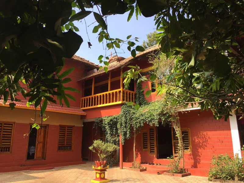 Ayurveda Yoga Villa, Kerala, India - from Chandra Goswami, senior Dru Yoga teacher trainer