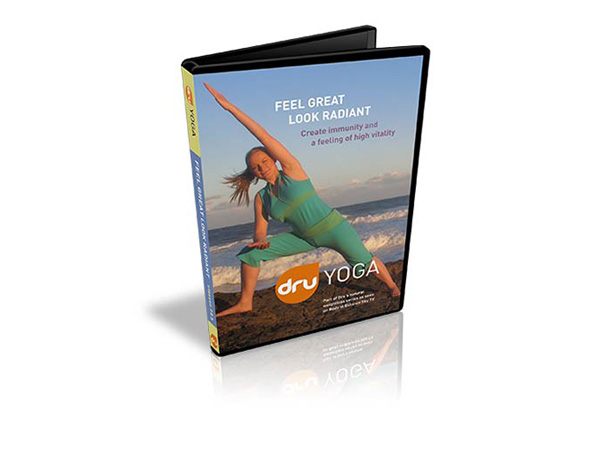 Dru Yoga Feel good look radiant DVD - Patel