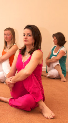 Christiane Saar and Neelke Mussche, Dru Yoga trainers, Dru Yoga teacher training course