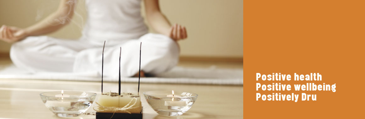 meditation with incense