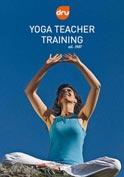 yoga teacher with students