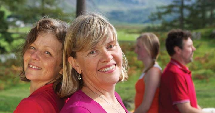Dru Yoga teachers in Snowdonia