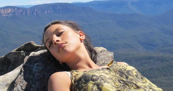 Radha Patel Dru Meditation in nature