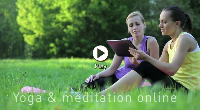 Join us at Dru Yoga Online