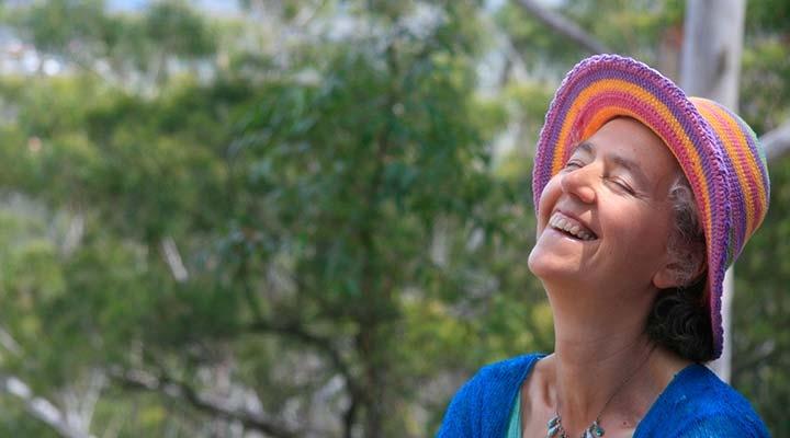 A happy Dru Yogi