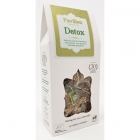 Carton of detox tea