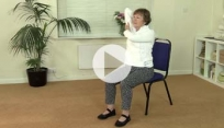 Chair yoga - improve posture