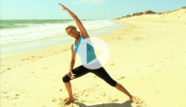 Wake up Yoga on the Beach
