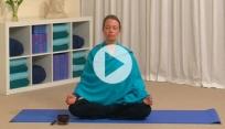 Blue mist meditation