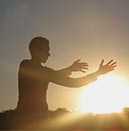Yoga at sunrise - testimonial photo