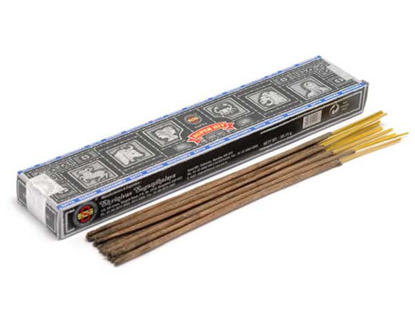 super hit incense Dru Yoga shop