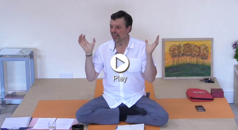 Talk on bhakti yoga and the tree of transformation