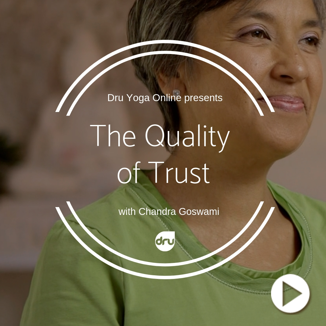 Quality of trust - chandra goswami
