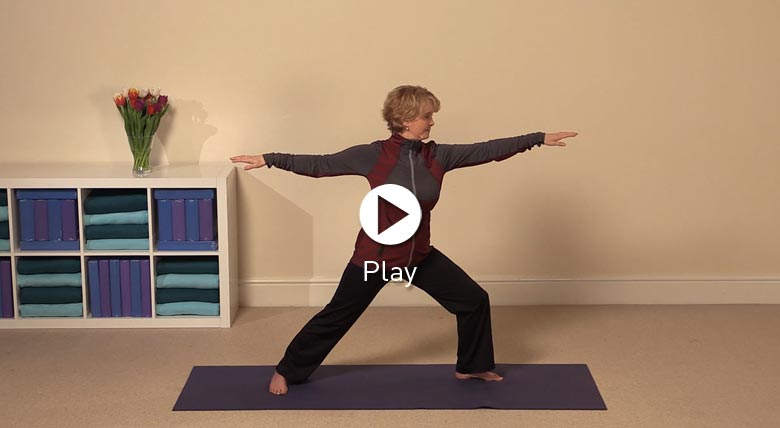 Warrior pose - march newsletter