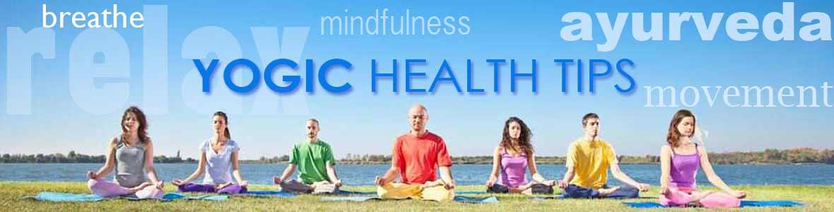 health tips header